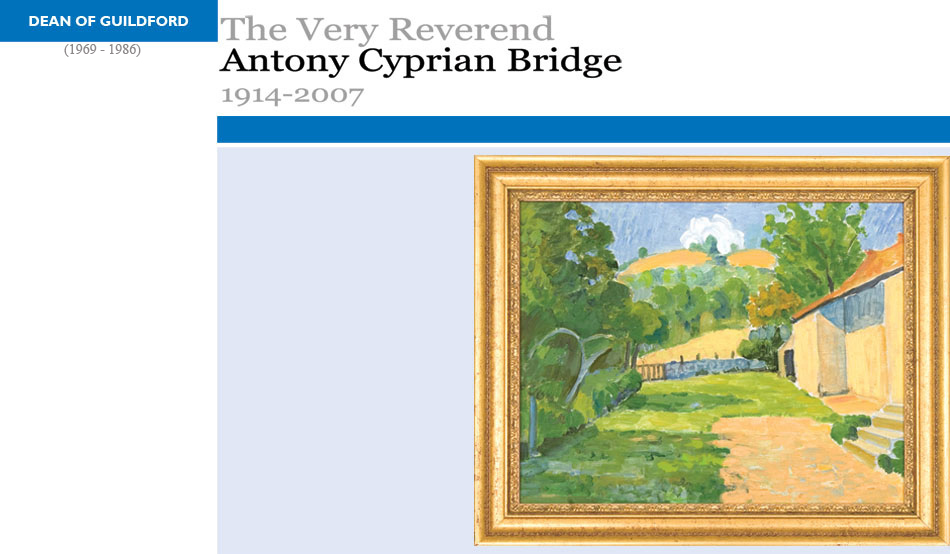 Antony Cyprian Bridge